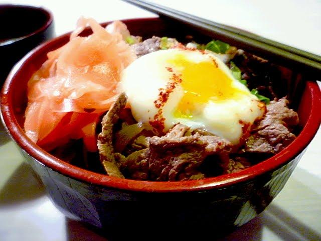 Japanese Beef Bowl 牛丼 Gyudon