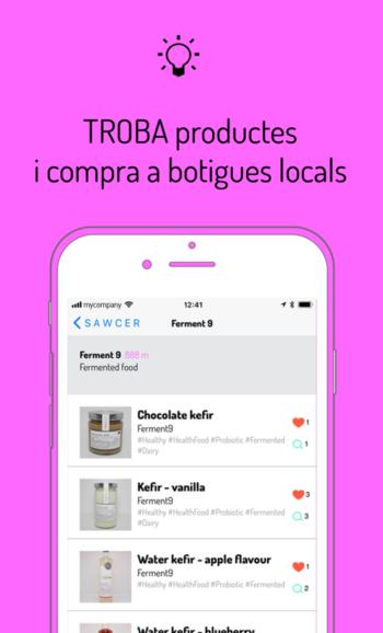 Troba productes i compra a botigues locals