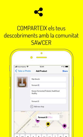 Comparteix els teus descobriments amb la comunitat sawcer