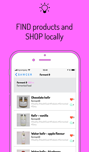 Find products and shop locally