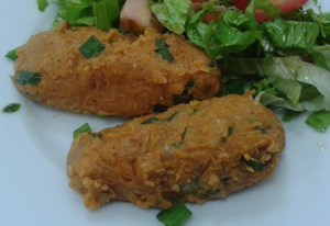 lentil and bulgur kofte
