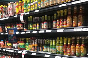 Chiles mexicanos y salsas picantes